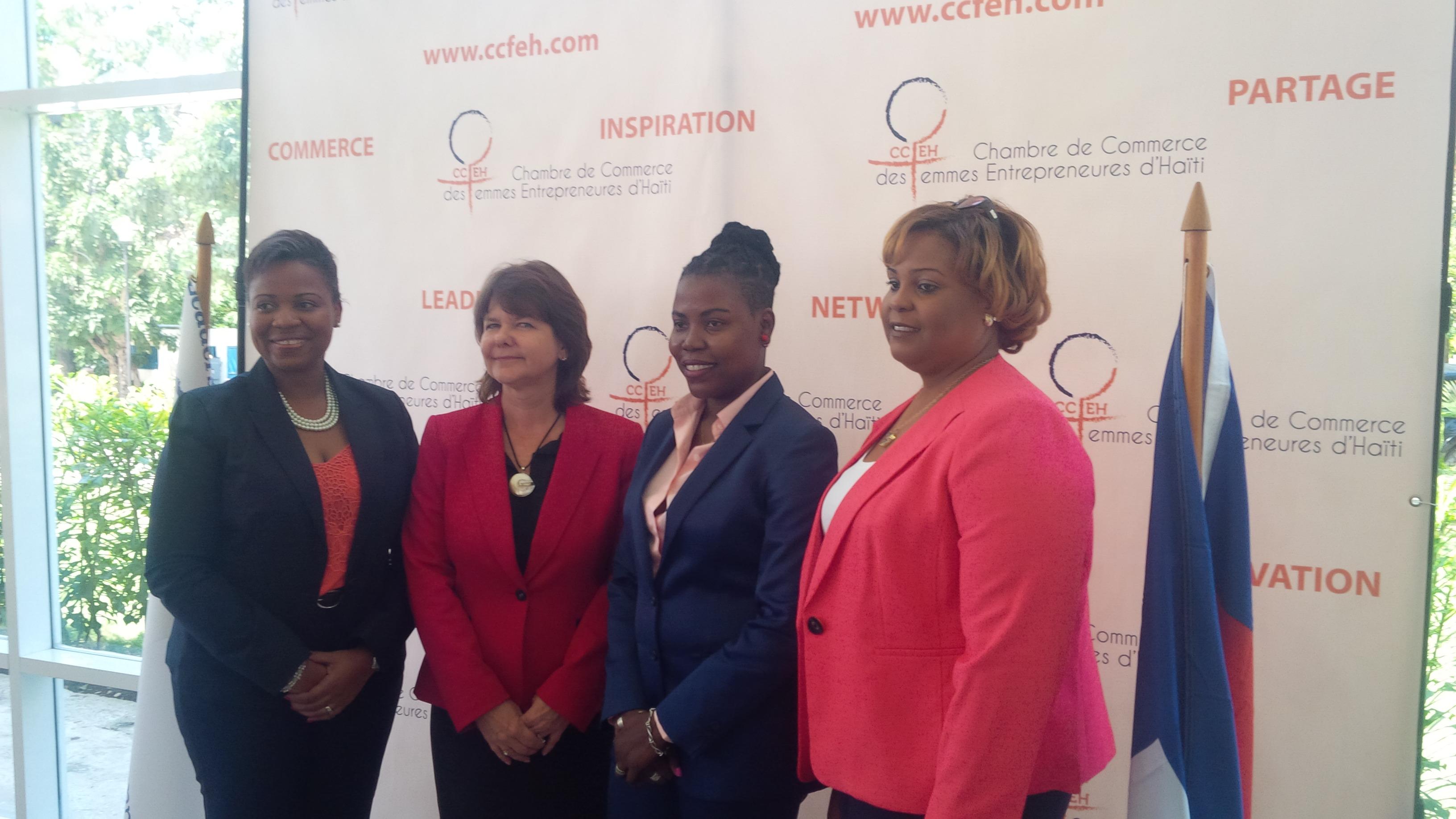 R seau participait au lancement de la chambre for Chambre de commerce d haiti
